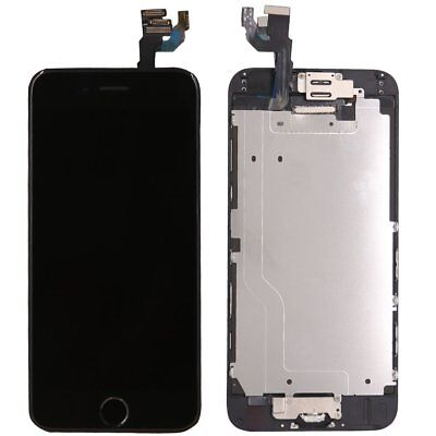 For iPhone 6 Complete LCD Digitizer Touch Screen Replacement Home Button Camera