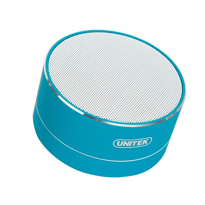 Unitek Bluetooth Speaker, 3W Portable Speakers, Wireless with FM Function, Micro