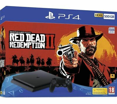 SONY PlayStation 4 with Red Dead Redemption 2 - 500 GB - Currys