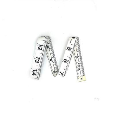"""60"""" Body Measuring Ruler Sewing Cloth Tailor Tape Measure"""