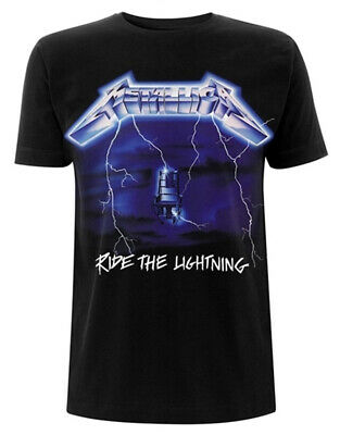 Metallica 'Ride The Lightning Tracks' T-Shirt - NEW & OFFICIAL!