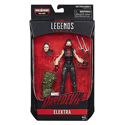 "Marvel Knights Legends Daredevil TV Series Elektra 6"" Inch Action Figure IN-HAND"