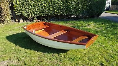 Brand New Wooden Clinker Dinghy/Tender/Rowing Boat