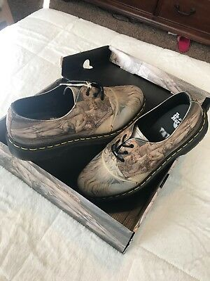 517a65c46c766 DR. MARTENS MENS 1461 3-Eye William Blake House Of Death Leather Shoes  22874102