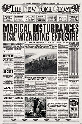 Fantastic Beasts and Where to Find Them New York Ghost Maxi Poster 61 x 91,5 cm