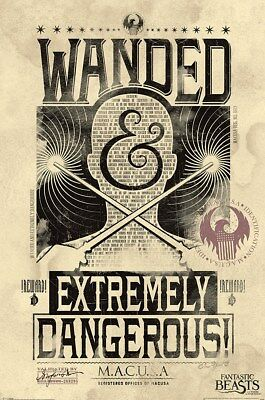 Fantastic Beasts and Where to Find Them Dangerous Maxi Poster 61 x 91,5 cm