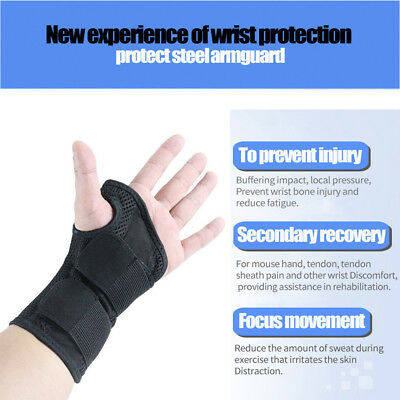 Multifunction Wrapped Wrist Elastic Bandage Therapy Pain Relief Orthotics Braces
