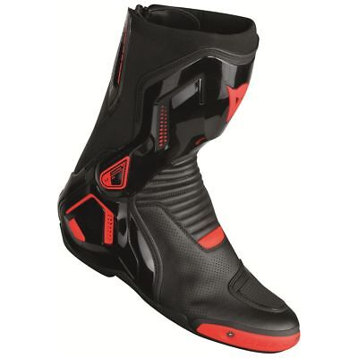 Dainese Course D1 Out Air Boots Black/Fluo Red