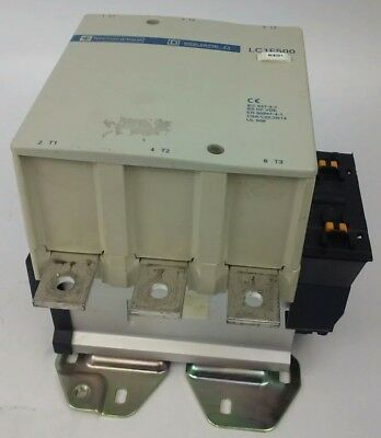 Telemecanique Lc1F500 Contactor, 3Ph, 600V, 700A, 500Hp, W/ Lx9Fk910 Coil