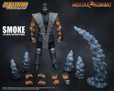 Storm Collectibles Mortal Kombat Smoke NYCC Exclusive 1/12 Action Figure USA