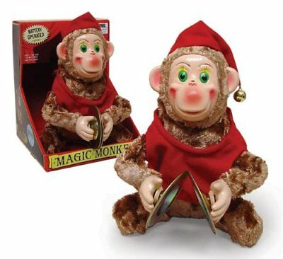 Westminster - Magic Monkey Toy - Classic Circus Monkey playing the Cymbals
