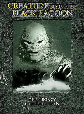 THE CREATURE FROM THE BLACK LAGOON: LEGACY COLLECTION 1954 DVD 2-Disc NOT A COPY