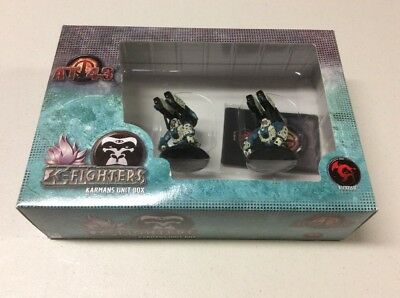 AT-43 - K-Fighters Unit Box - Karmans - Unopened Box