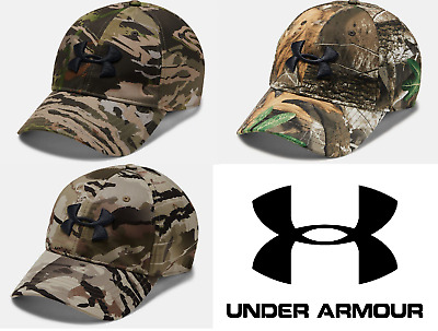 various colors 0fe42 55f88 Under Armour Camo Stretch Fit Cap - FREE SHIPPING - 1318532