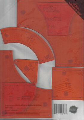 Jen Kingwell: Halo Quilt Templates Only