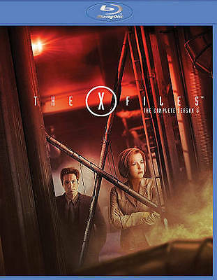The X-Files - The Complete Sixth Season (Blu-ray Disc, 2015, 6-Disc) BROKEN CASE