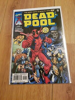 Deadpool 50 nm anniversary issue