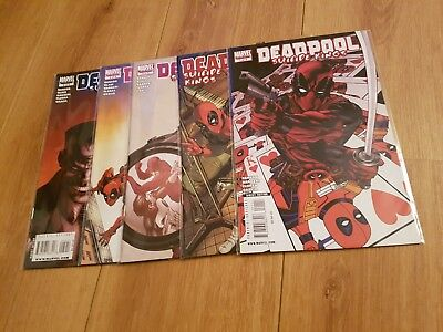 Deadpool suicide kings 1-5 nm uber hot full set
