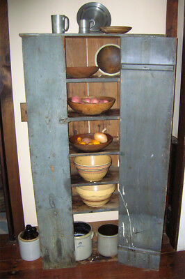 Large Antique Cabinet From 1800's - Primitive Cupboard