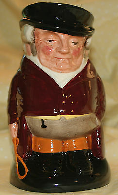 "Royal Doulton LARGE Toby Character Jug  THE HUNTSMAN  7.5""    MINT"