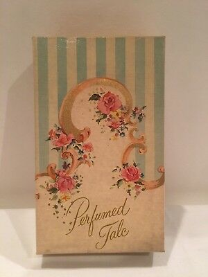 Vintage Avon Perfumed Talc Cotillion 2.75 oz tin with original box NOS