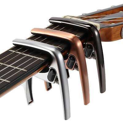 Donner Guitar Capo for Acoustic and Electric Guitar Ukulele & 4 Guitar Picks