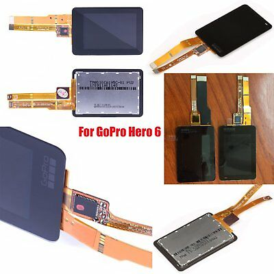 For GoPro Hero 6 LCD Touch Screen Rear LCD Repair Part Touchscreen Replacement