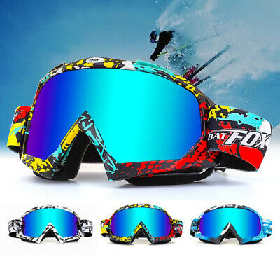 Winter Anti-Fog Ski Goggles Double Layers Adult Snowboard Sport Skiing Glasses