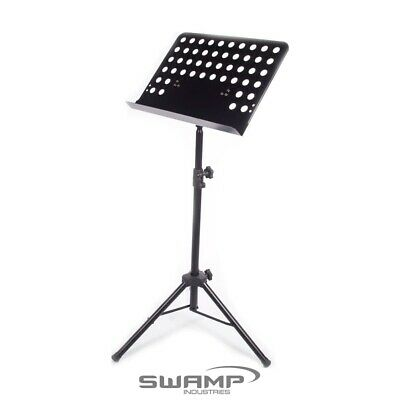 Heavy Duty Sheet Music Stand - Sturdy Metal Construction