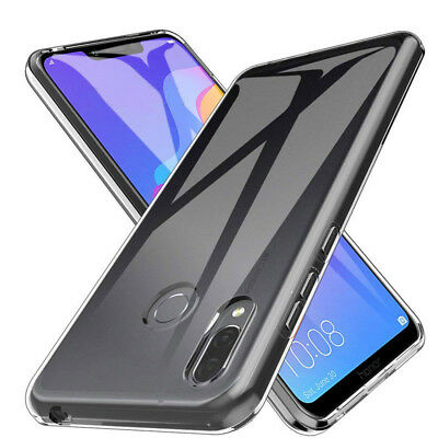 For Huawei Honor Play Ultra-thin Transparent Crystal Clear Case Soft TPU Cover