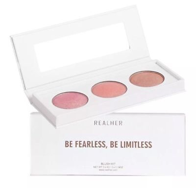 RealHer Everyday BLUSH KIT- Shimmers Bronzer Highlighting Cheek Color
