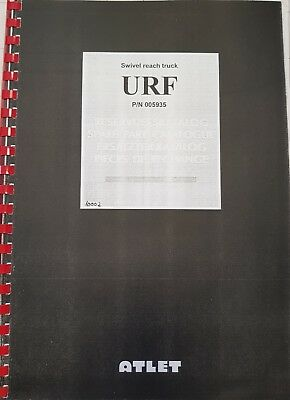 Spare Parts Book Atlet Urf P/N 005935