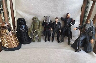 """Doctor Who 5 Figures & 2 Daleks Ect 6-7 """" Tall  BBC & Marvel ..Read Below"""
