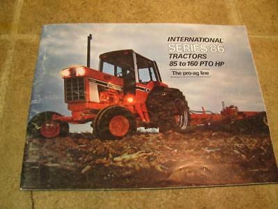 International 86 Series Tractor Sales Brochure Hydro 186 886 986 1086 1486 1586