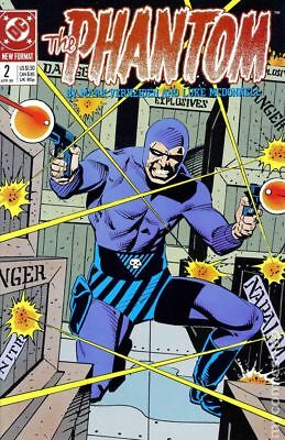 Phantom (DC 2nd Series) #2 1989 VF Stock Image