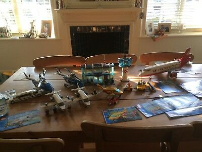Large Lego Airport And Plane Inc 76963222 77323182 On Amazon At