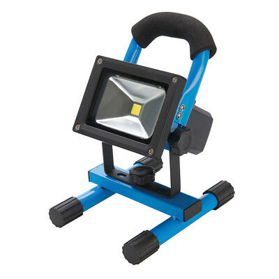 Silverline 258999 LED Rechargeable Site Light with USB 10W