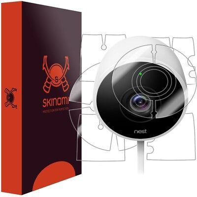 Skinomi FULL BODY Clear Skin+Lens Protector For Nest Cam Outdoor Security Camera