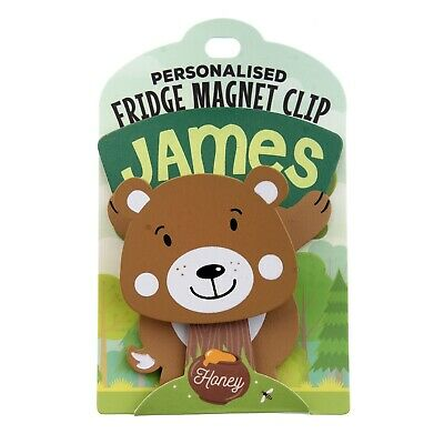 Fridge Magnet Clip James