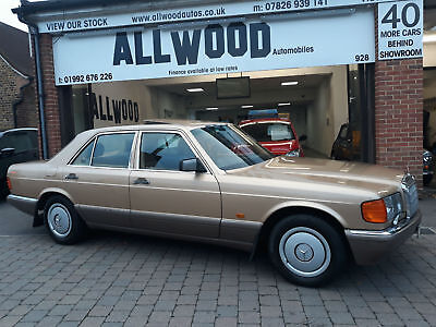 Mercedes-Benz 300 3.0 auto SE 1988 ONLY 73000 FULL HISTORY