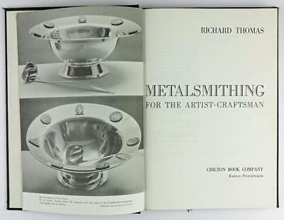 "Vintage 1960 ""Metalsmithing for the Artist-Craftsman"" by Richard Thomas"