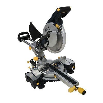 GMC 944372 1600W Double Bar Sliding Mitre Saw 255mm GM255S