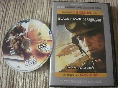 Dvd Film Black Hawk Knocked Down Edition 1 Disk Used Good Condition