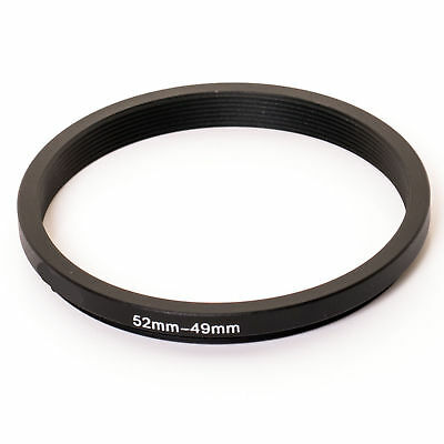 Stepping Ring Step Down Rings 52mm to 49mm Kood PRO QUALITY Lens Filter Adapter