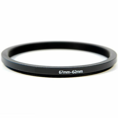 Stepping Ring Step Down Rings 67mm to 62mm Kood PRO QUALITY Lens Filter Adapter