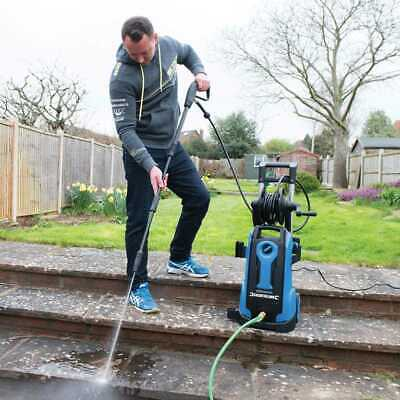 2100W Pressure Washer 165Bar Max Power Tools Outdoor Silverline 943676