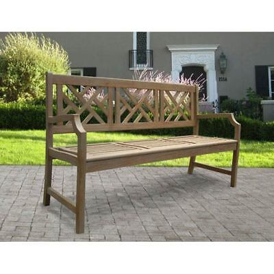 Brilliant Renaissance Outdoor Hand Scraped Hardwood Bench 176 10 Ocoug Best Dining Table And Chair Ideas Images Ocougorg
