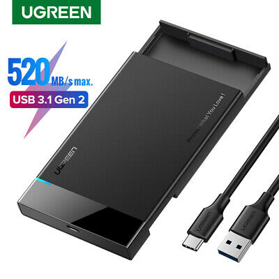 Ugreen HDD Case 2.5 inch SATA to USB 3.0 SSD Adapter HDD Enclosure for Laptop