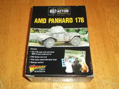 BOLT ACTION PANHARD 178 ARMOURED CAR WARLORD GAMES