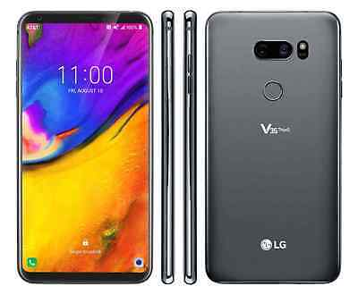"""LG V35 ThinQ – 64GB (Latest Model)  AT&T GSM World Unlocked  Phone """" Excellent'"""